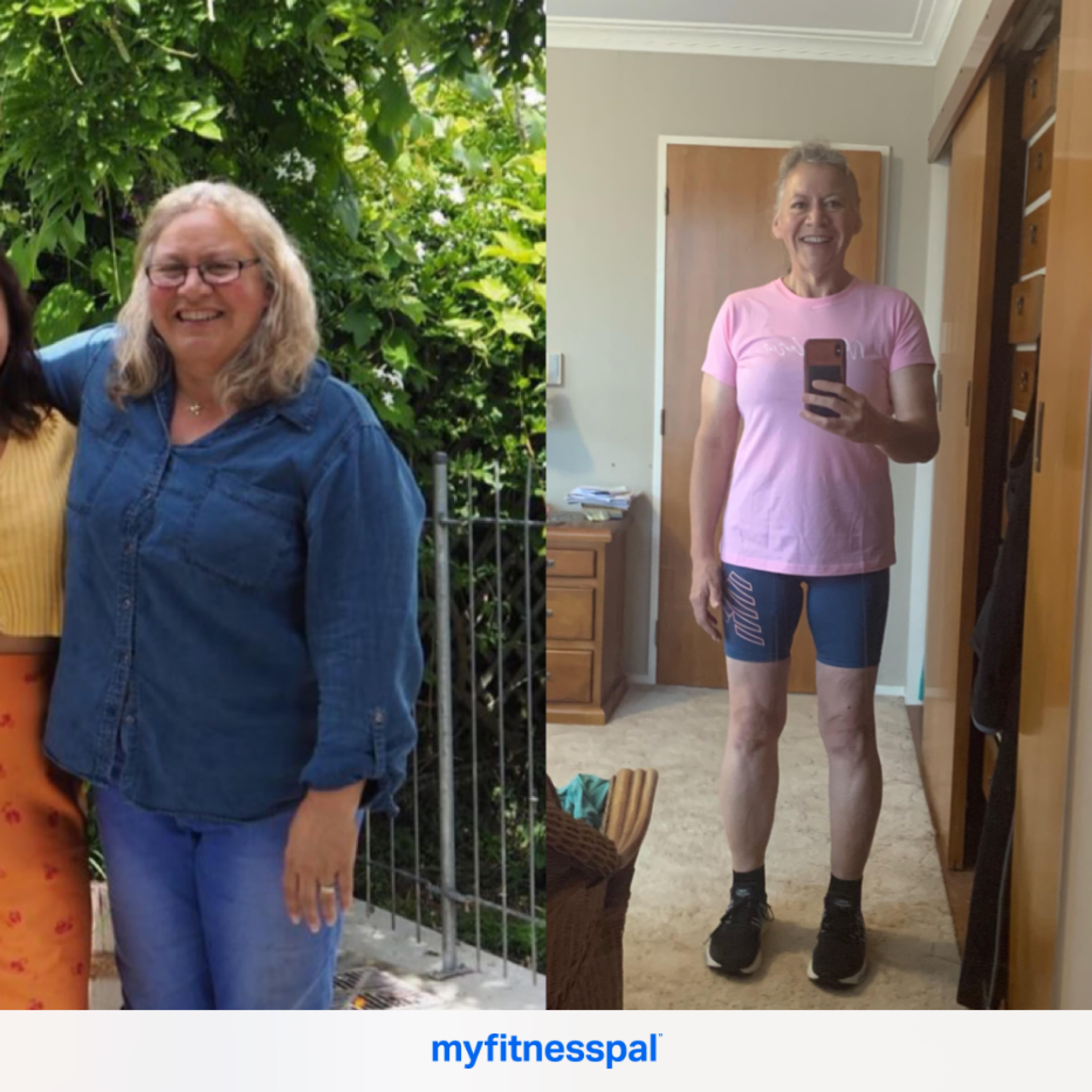 Progress Pics of 90 lbs Weight Loss 5 feet 5 Female 222 lbs to 132 lbs