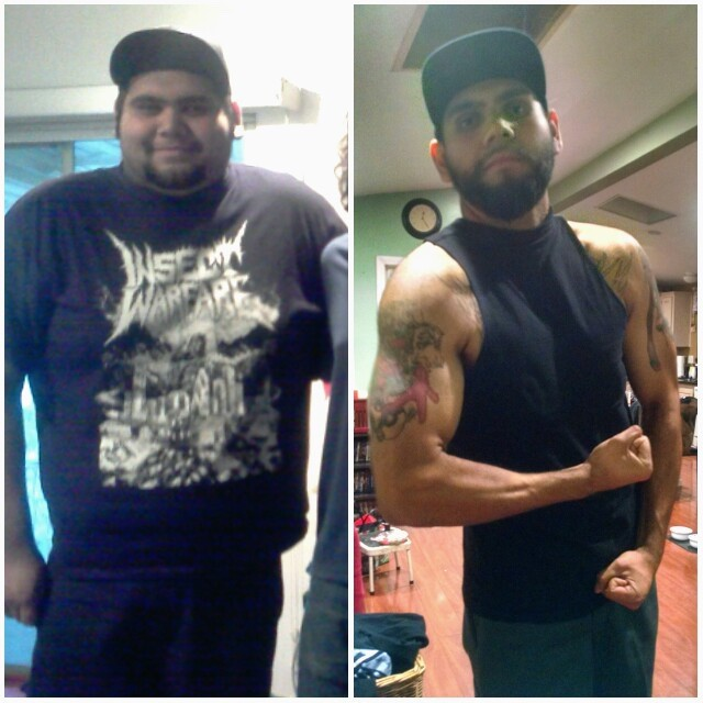 6 feet 2 Male Before and After 150 lbs Weight Loss 345 lbs to 195 lbs
