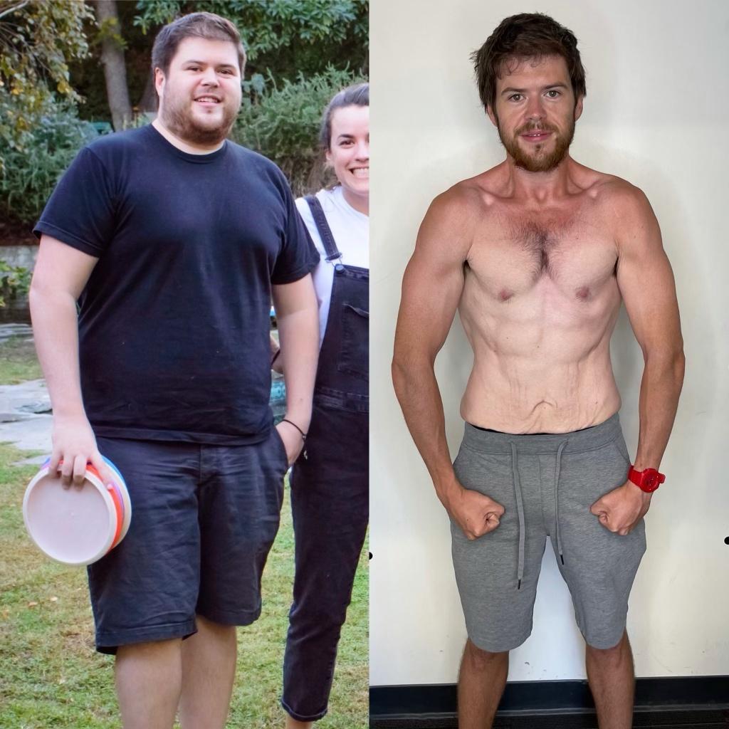 5'11 Male 107 lbs Weight Loss 255 lbs to 148 lbs