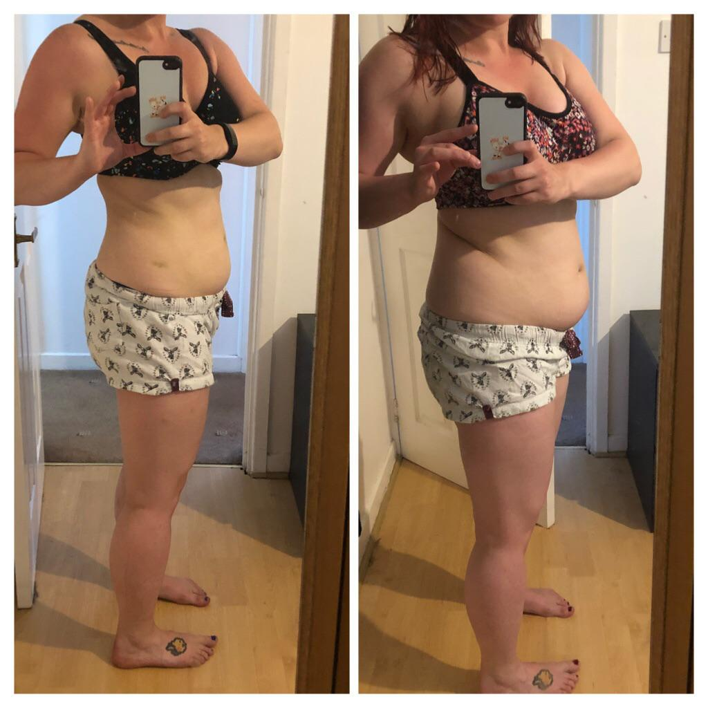 5 feet 2 Female Before and After 9 lbs Weight Loss 151 lbs to 142 lbs