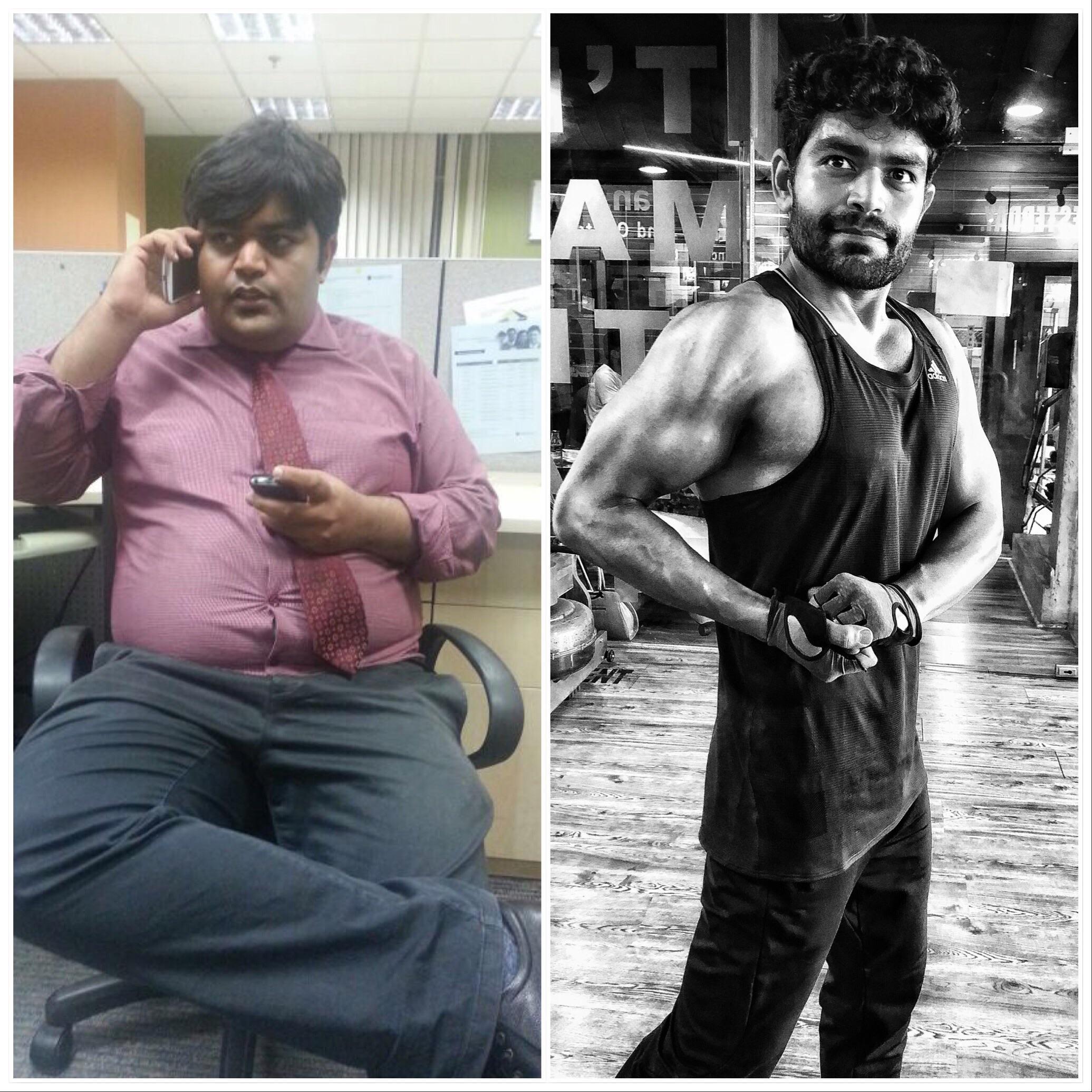 Progress Pics of 117 lbs Fat Loss 5 foot 9 Male 275 lbs to 158 lbs