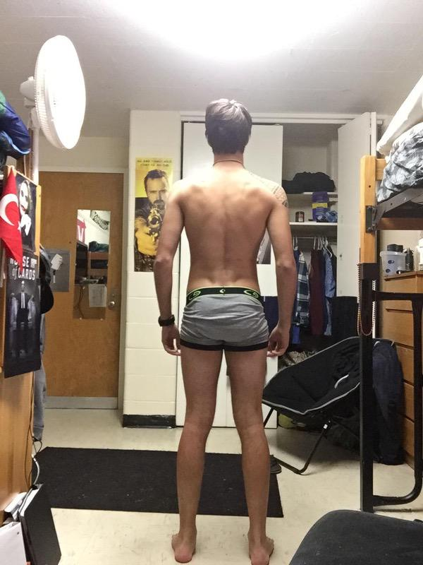 3 Photos of a 150 lbs 5 foot 11 Male Fitness Inspo