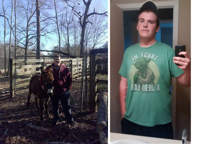 165 lbs Fat Loss Before and After 6 foot 1 Male 390 lbs to 225 lbs