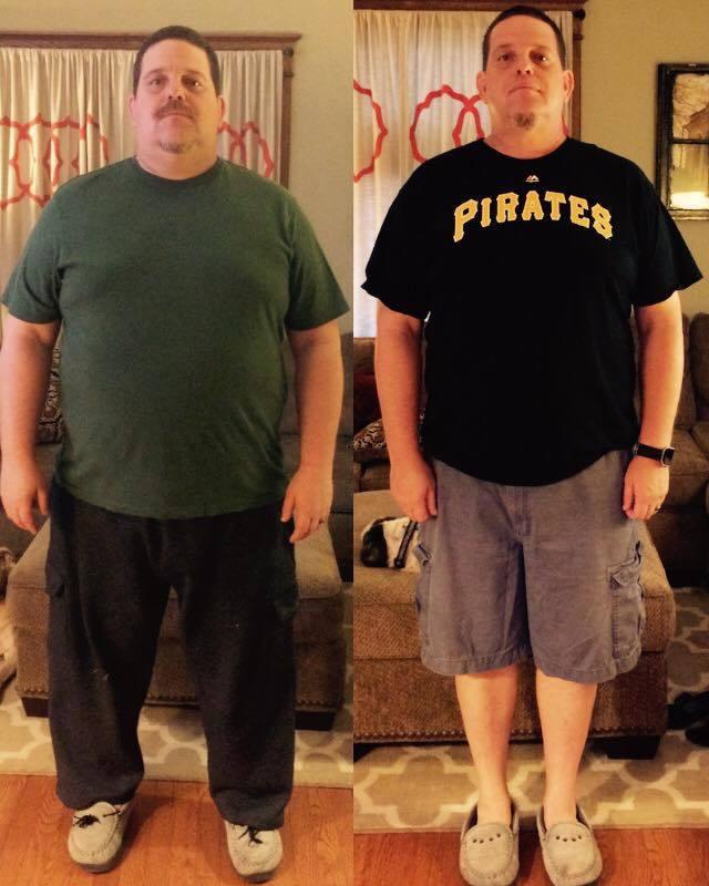 6 feet 2 Male 81 lbs Weight Loss 357 lbs to 276 lbs
