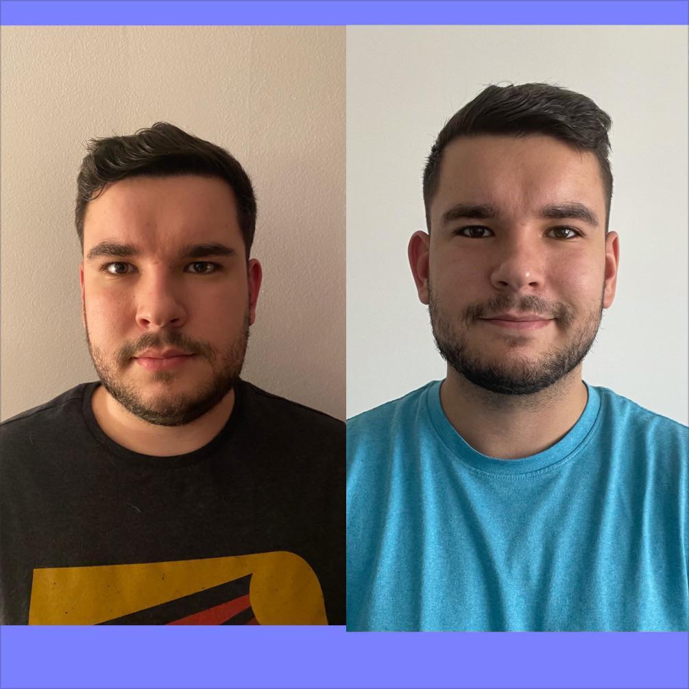 6'1 Male 40 lbs Weight Loss 232 lbs to 192 lbs