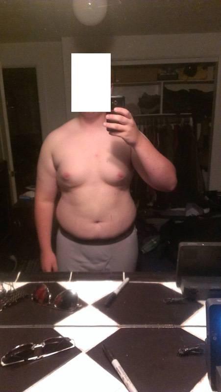 6 feet 2 Male Progress Pics of 75 lbs Fat Loss 285 lbs to 210 lbs