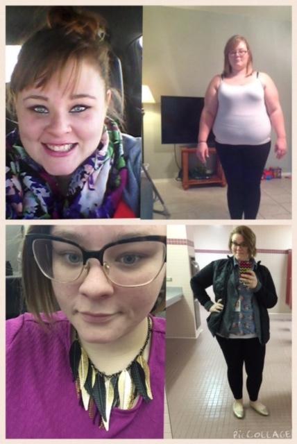 80 lbs Weight Loss 5 feet 5 Female 315 lbs to 235 lbs