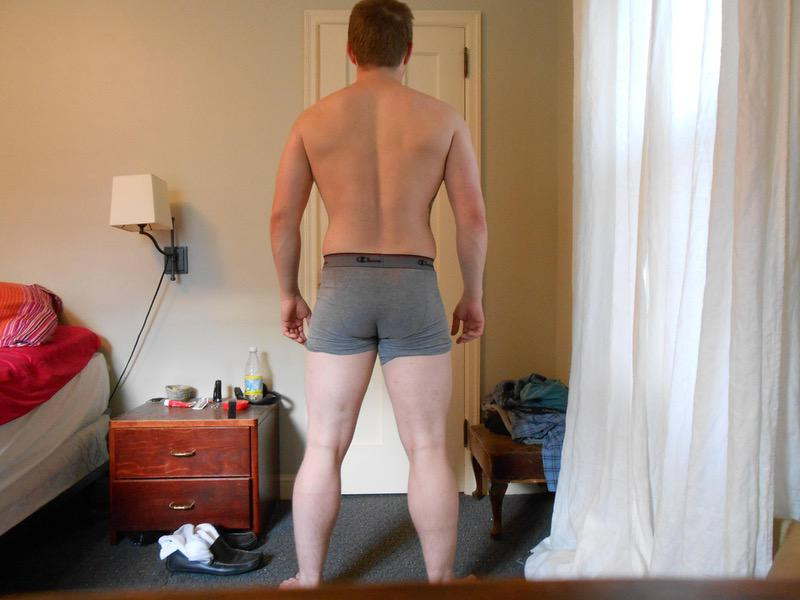 7 Photos of a 5'7 164 lbs Male Weight Snapshot