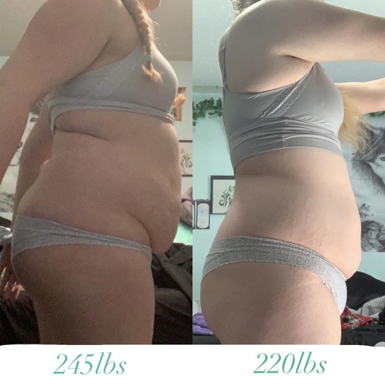 Progress Pics of 250 lbs Muscle Gain 5 feet 11 Female 250 lbs to 500 lbs