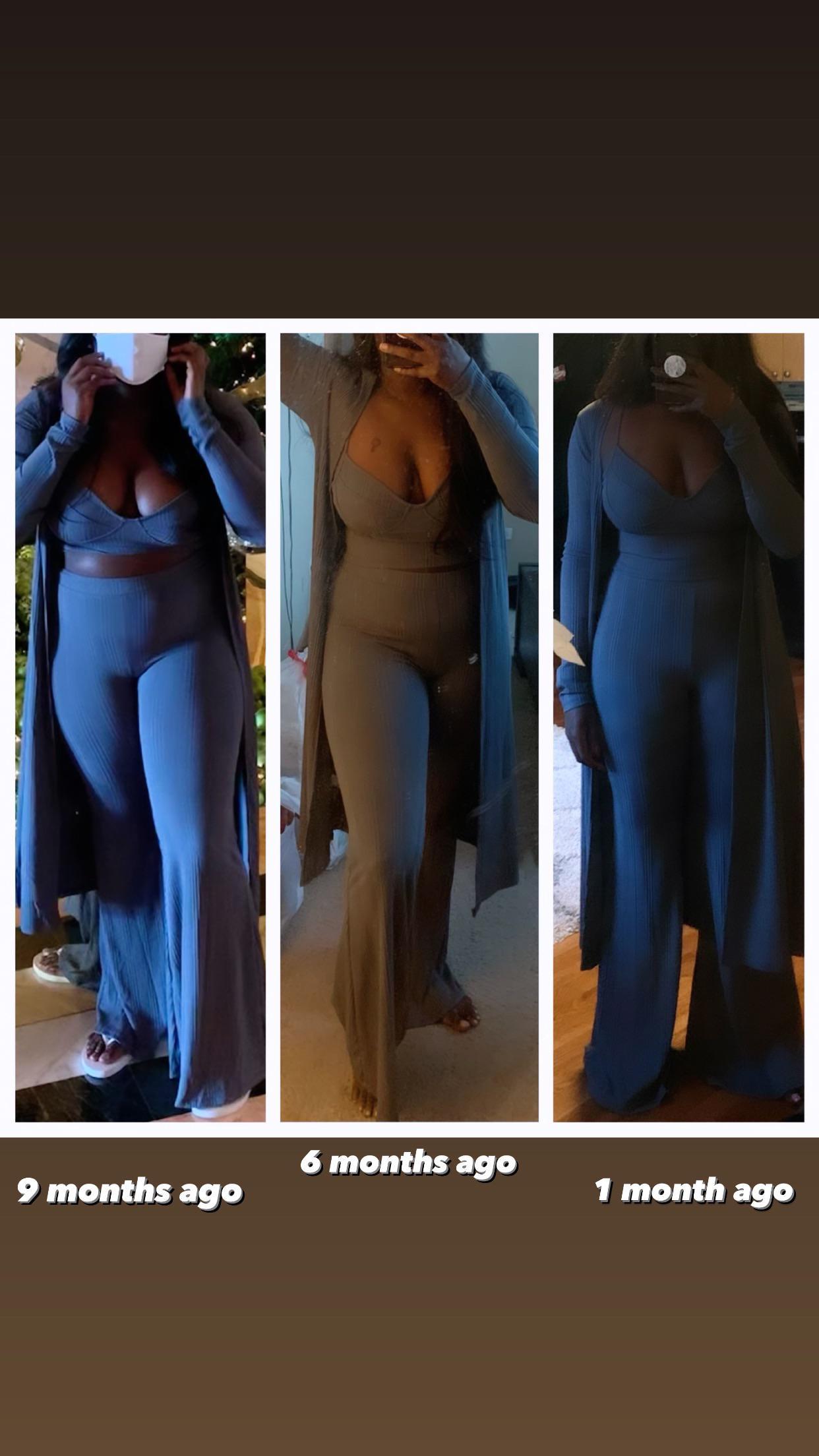 5 feet 5 Female Progress Pics of 60 lbs Fat Loss 212 lbs to 152 lbs
