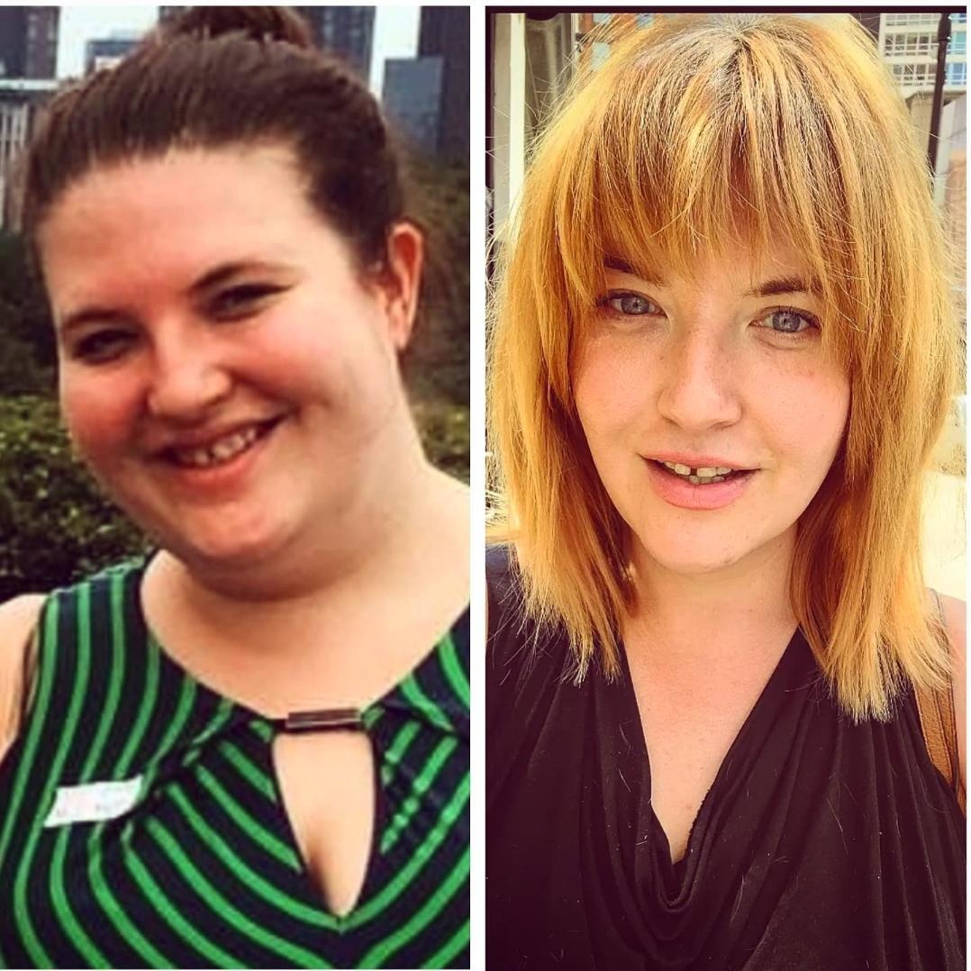 78 lbs Fat Loss 5 foot 5 Female 258 lbs to 180 lbs
