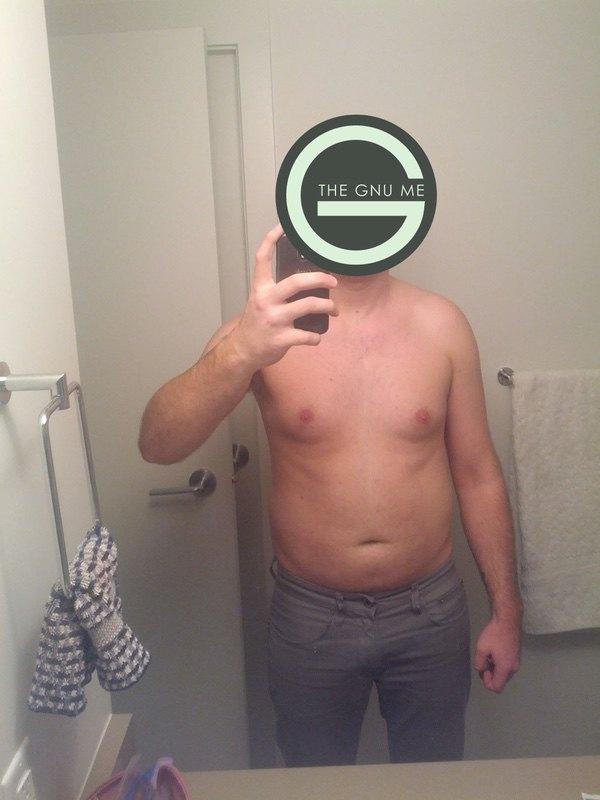 6 foot Male Progress Pics of 30 lbs Fat Loss 195 lbs to 165 lbs