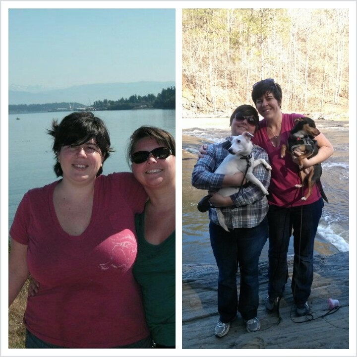 5 feet 8 Female Before and After 67 lbs Weight Loss 252 lbs to 185 lbs