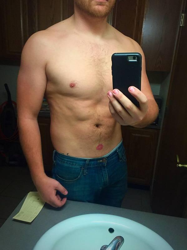 2 Pics of a 6 feet 2 214 lbs Male Fitness Inspo
