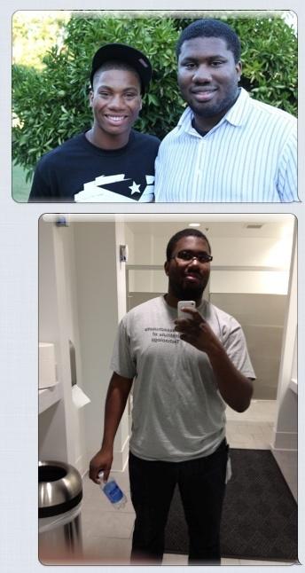 Progress Pics of 33 lbs Weight Loss 6 foot 3 Male 297 lbs to 264 lbs
