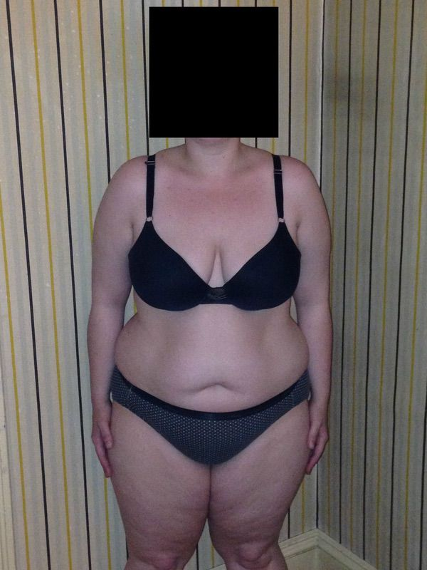 4 Photos of a 222 lbs 5'6 Female Weight Snapshot
