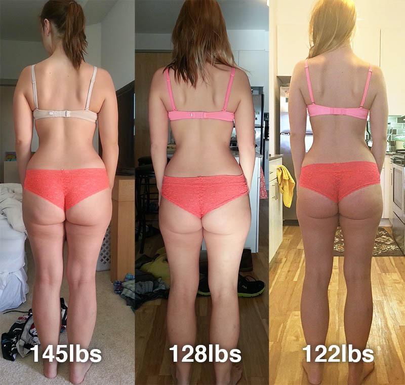 25 lbs Weight Loss 5 feet 3 Female 147 lbs to 122 lbs