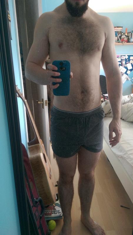 23 lbs Fat Loss 5 feet 10 Male 172 lbs to 149 lbs