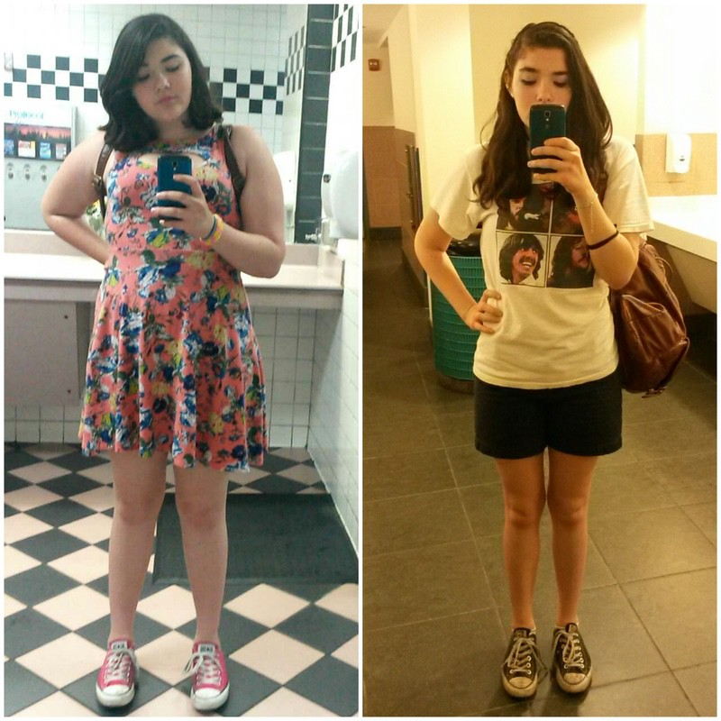 5 foot 5 Female Before and After 58 lbs Weight Loss 185 lbs to 127 lbs