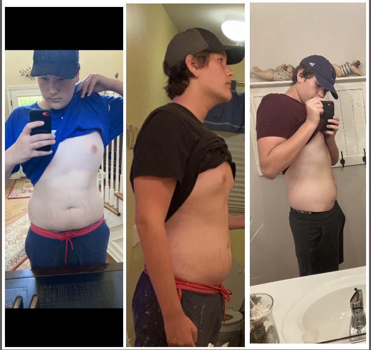 Progress Pics of 33 lbs Fat Loss 6 feet 4 Male 242 lbs to 209 lbs