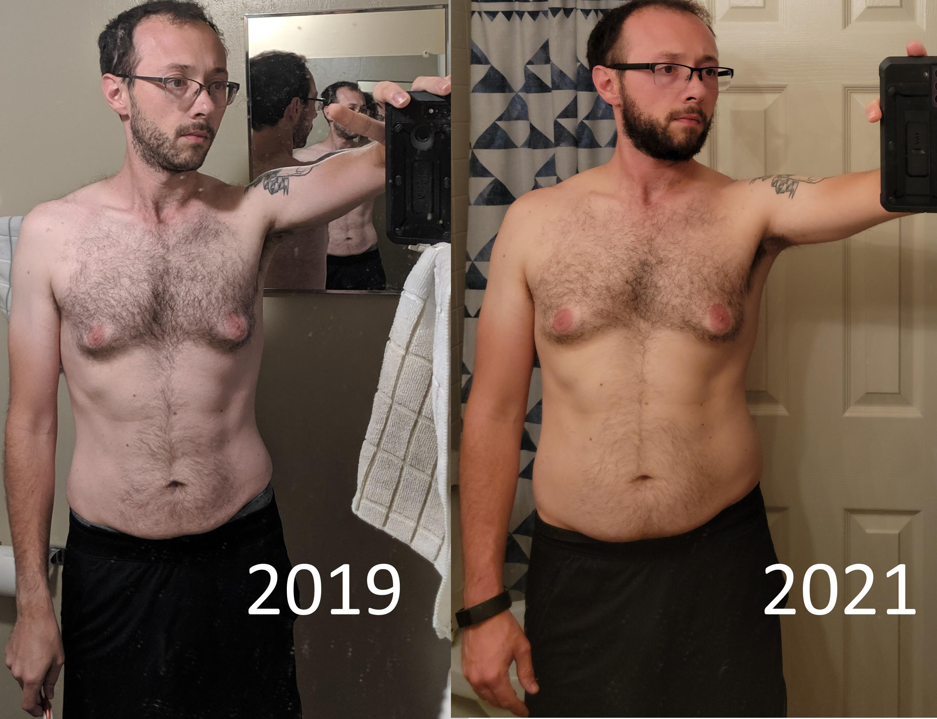 5 feet 10 Male 27 lbs Weight Gain Before and After 145 lbs to 172 lbs
