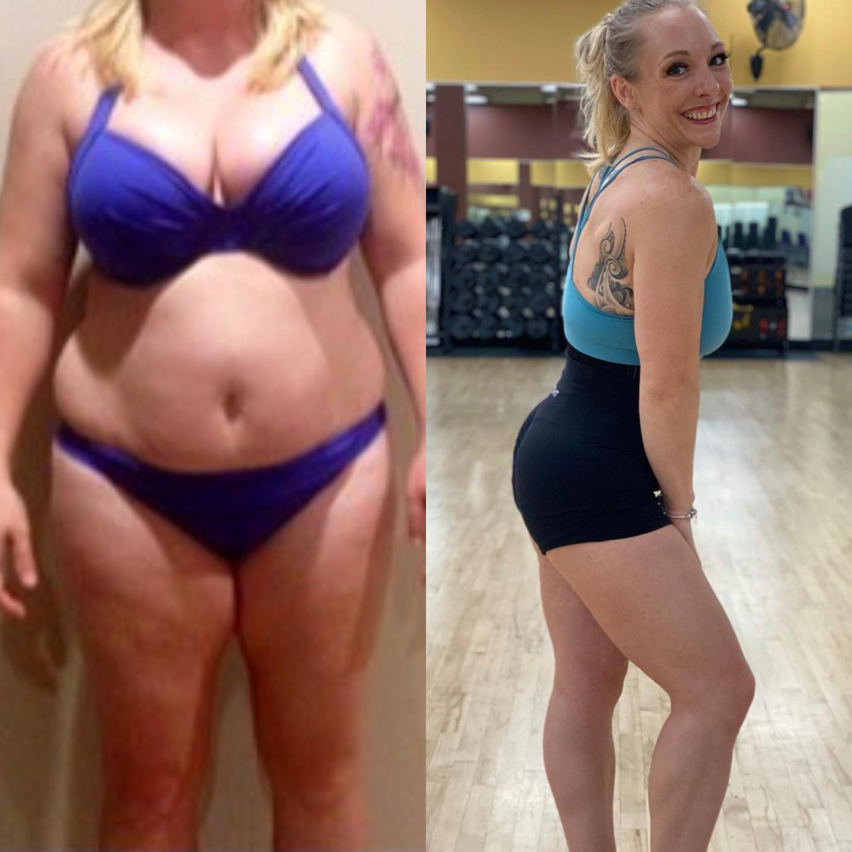 230 lbs Fat Loss 5 feet 6 Female 350 lbs to 120 lbs