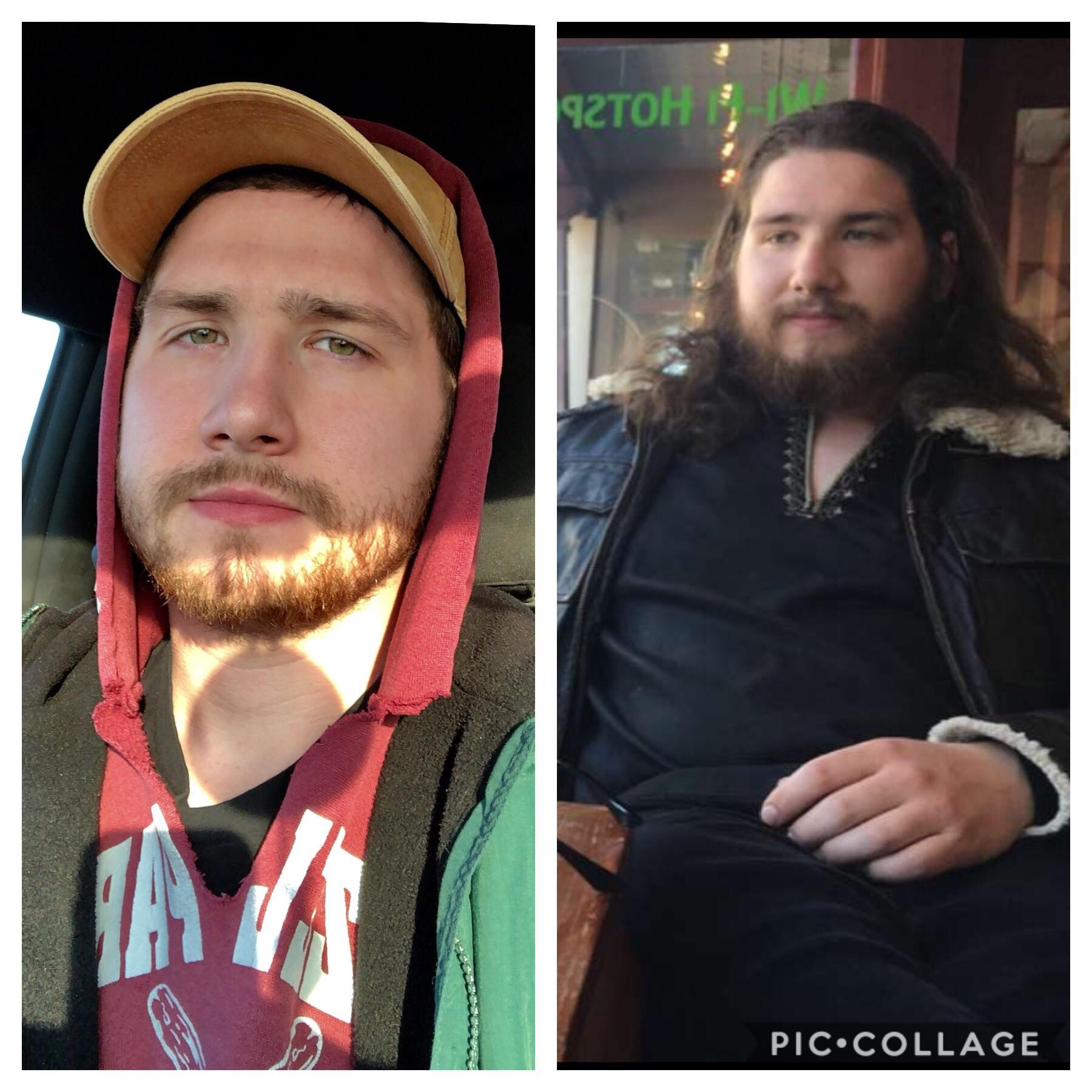 38 lbs Weight Loss Before and After 5'11 Male 220 lbs to 182 lbs