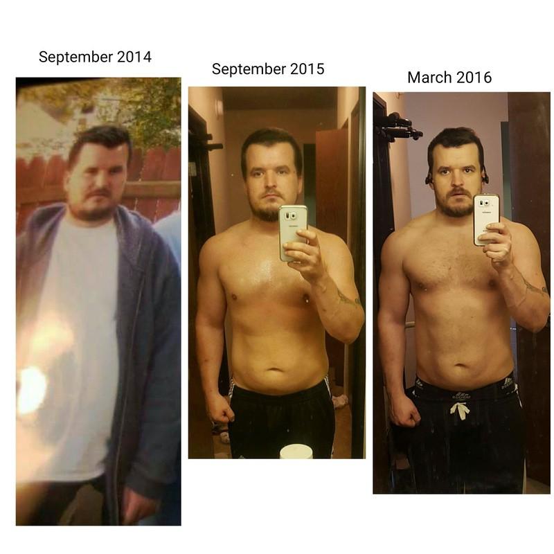 5 feet 9 Male Progress Pics of 85 lbs Fat Loss 265 lbs to 180 lbs