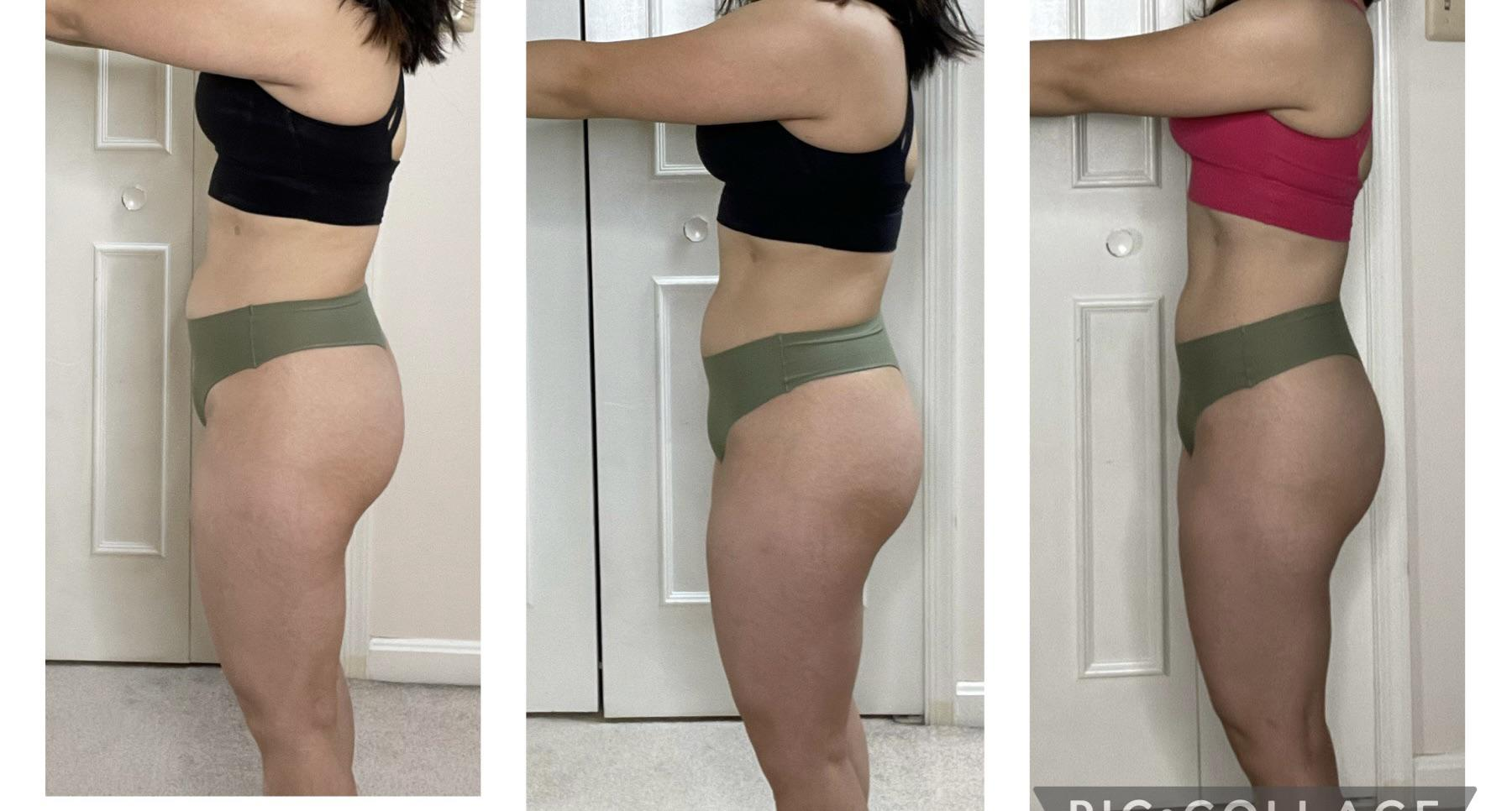 Progress Pics of 11 lbs Weight Loss 5 foot 1 Female 145 lbs to 134 lbs
