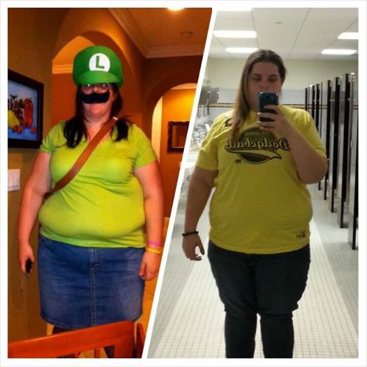 5 foot 7 Female 127 lbs Weight Loss Before and After 386 lbs to 259 lbs