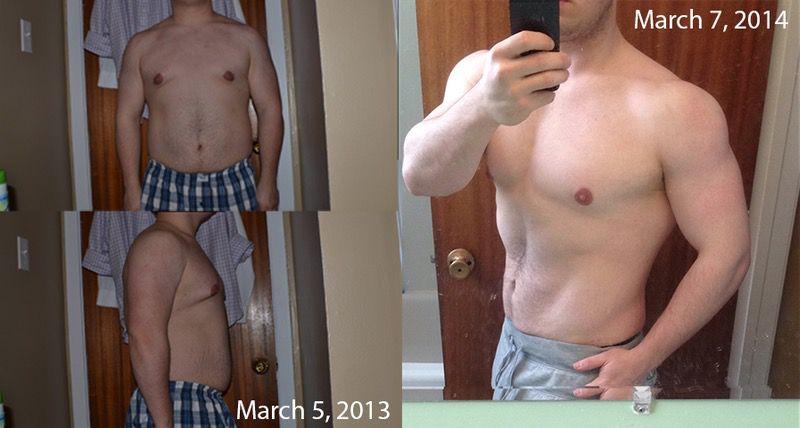 15 lbs Fat Loss 5 feet 6 Male 195 lbs to 180 lbs