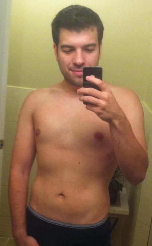 Progress Pics of 80 lbs Fat Loss 5 feet 7 Male 240 lbs to 160 lbs