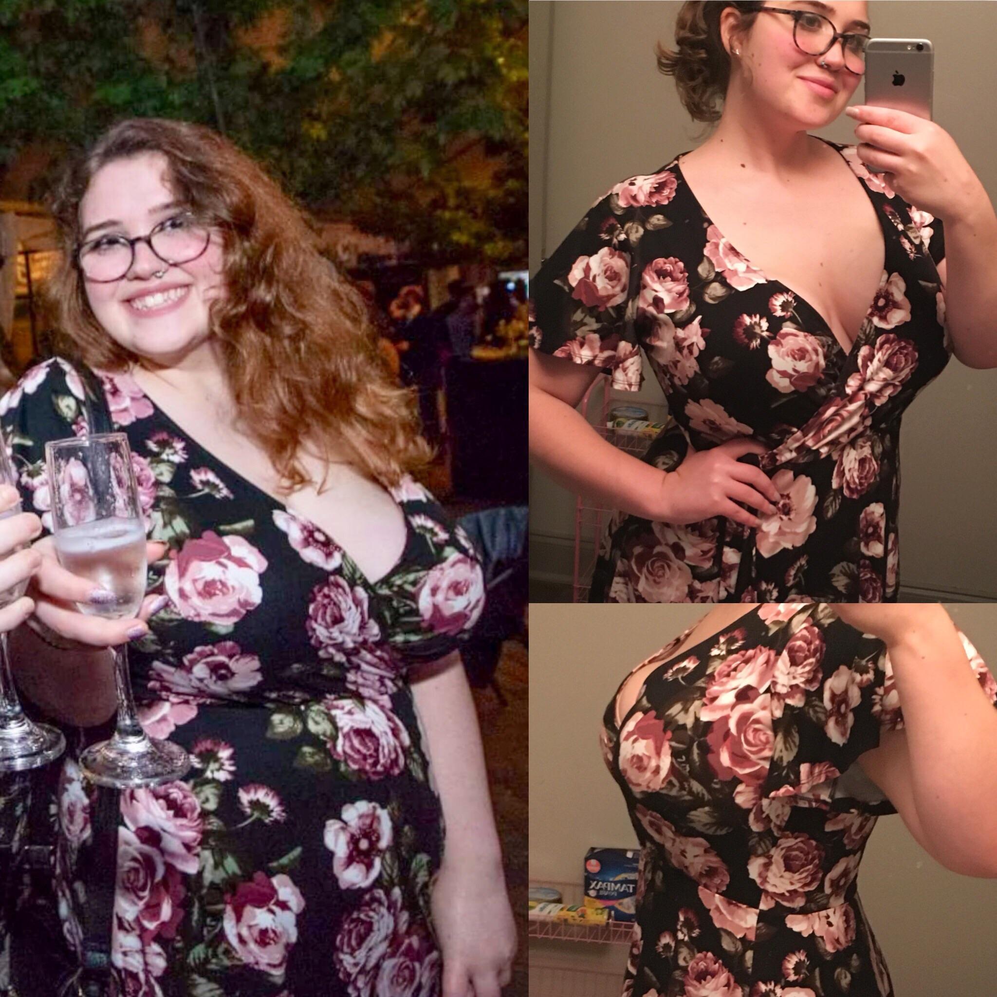 5 feet 5 Female 38 lbs Fat Loss 230 lbs to 192 lbs
