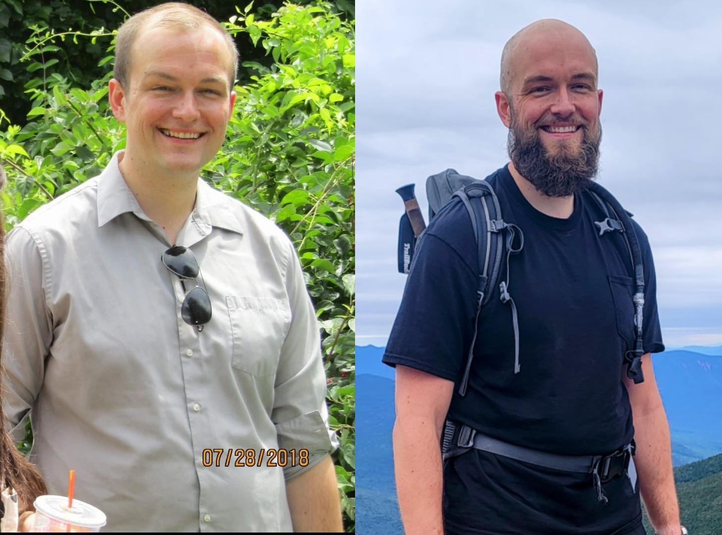 6'4 Male Progress Pics of 20 lbs Fat Loss 240 lbs to 220 lbs