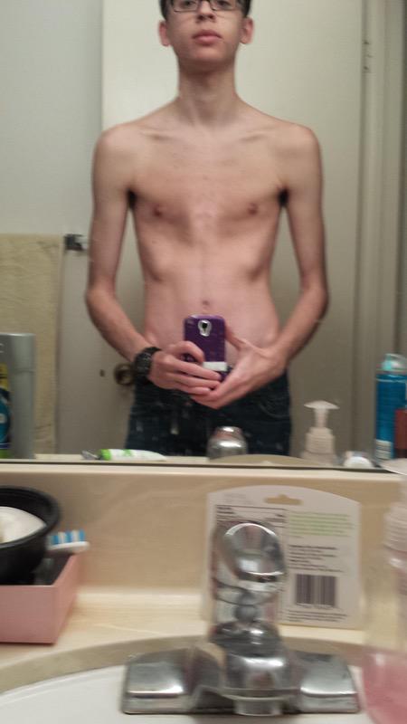 28 lbs Muscle Gain 5 feet 10 Male 102 lbs to 130 lbs