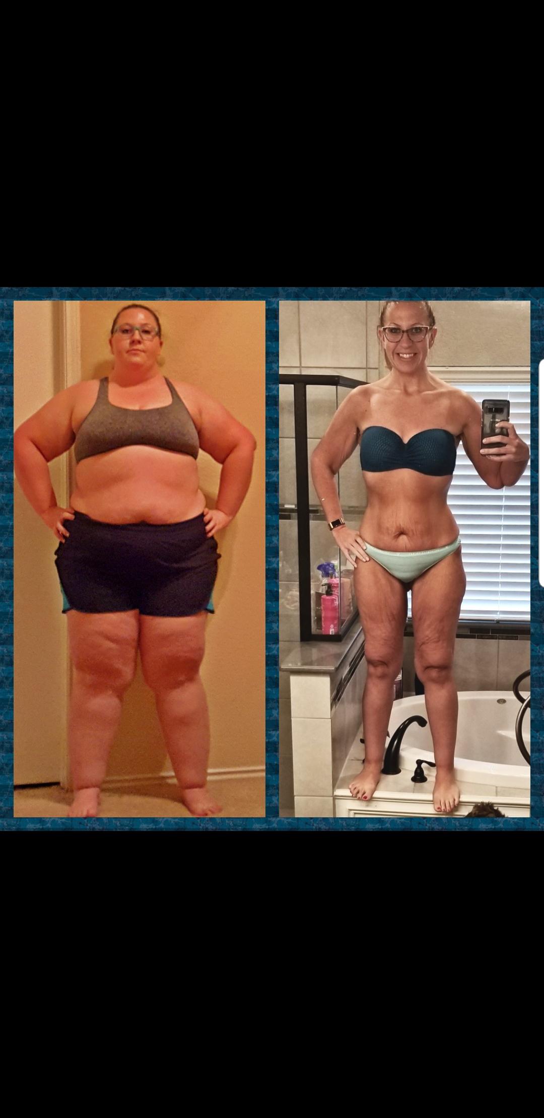 183 lbs Fat Loss 5'6 Female 346 lbs to 163 lbs