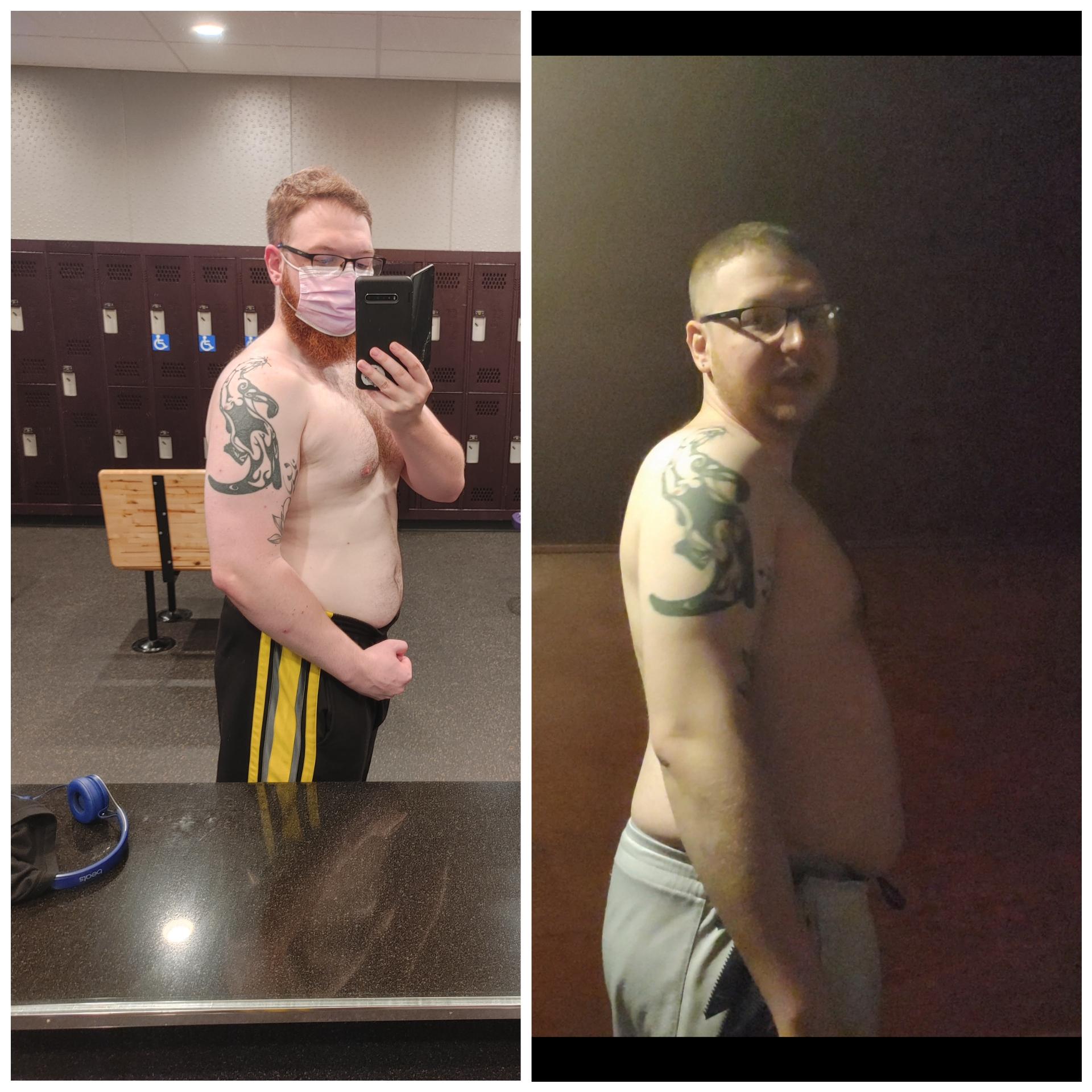 Progress Pics of 5 lbs Weight Loss 5 feet 11 Male 230 lbs to 225 lbs