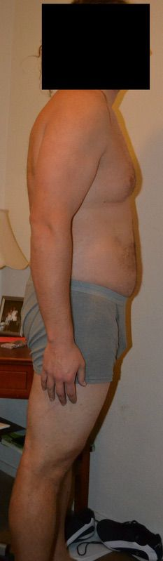 4 Pictures of a 287 lbs 6 feet 6 Male Fitness Inspo