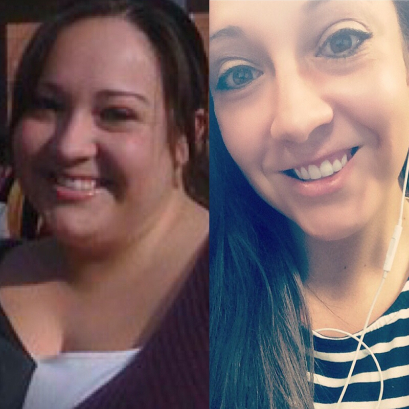 145 lbs Weight Loss Before and After 5 feet 2 Female 330 lbs to 185 lbs
