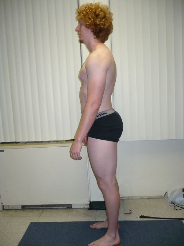 4 Pictures of a 6 foot 6 234 lbs Male Weight Snapshot