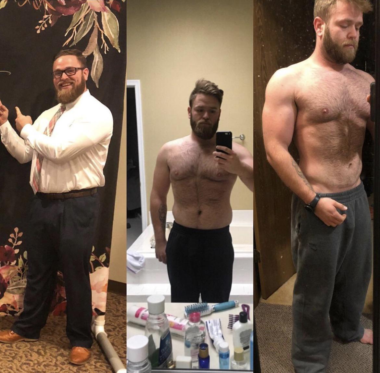 5 foot 11 Male Progress Pics of 45 lbs Fat Loss 255 lbs to 210 lbs