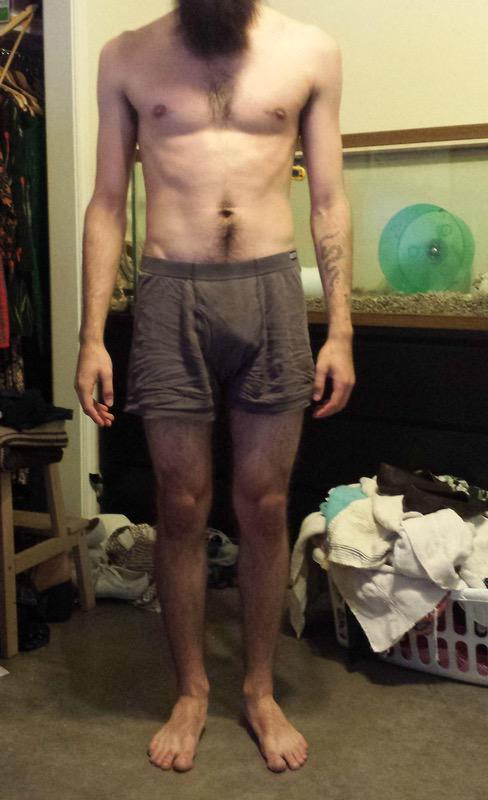 6 Pictures of a 5 feet 8 125 lbs Male Fitness Inspo