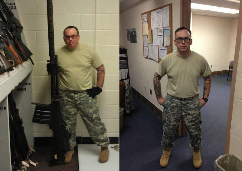 Progress Pics of 50 lbs Fat Loss 5 foot 7 Male 220 lbs to 170 lbs