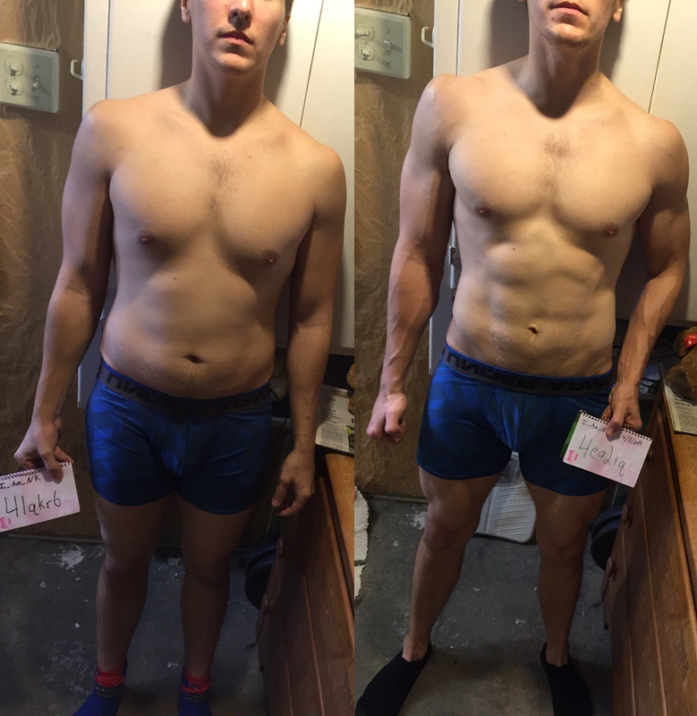 6 Pictures of a 5'10 160 lbs Male Fitness Inspo