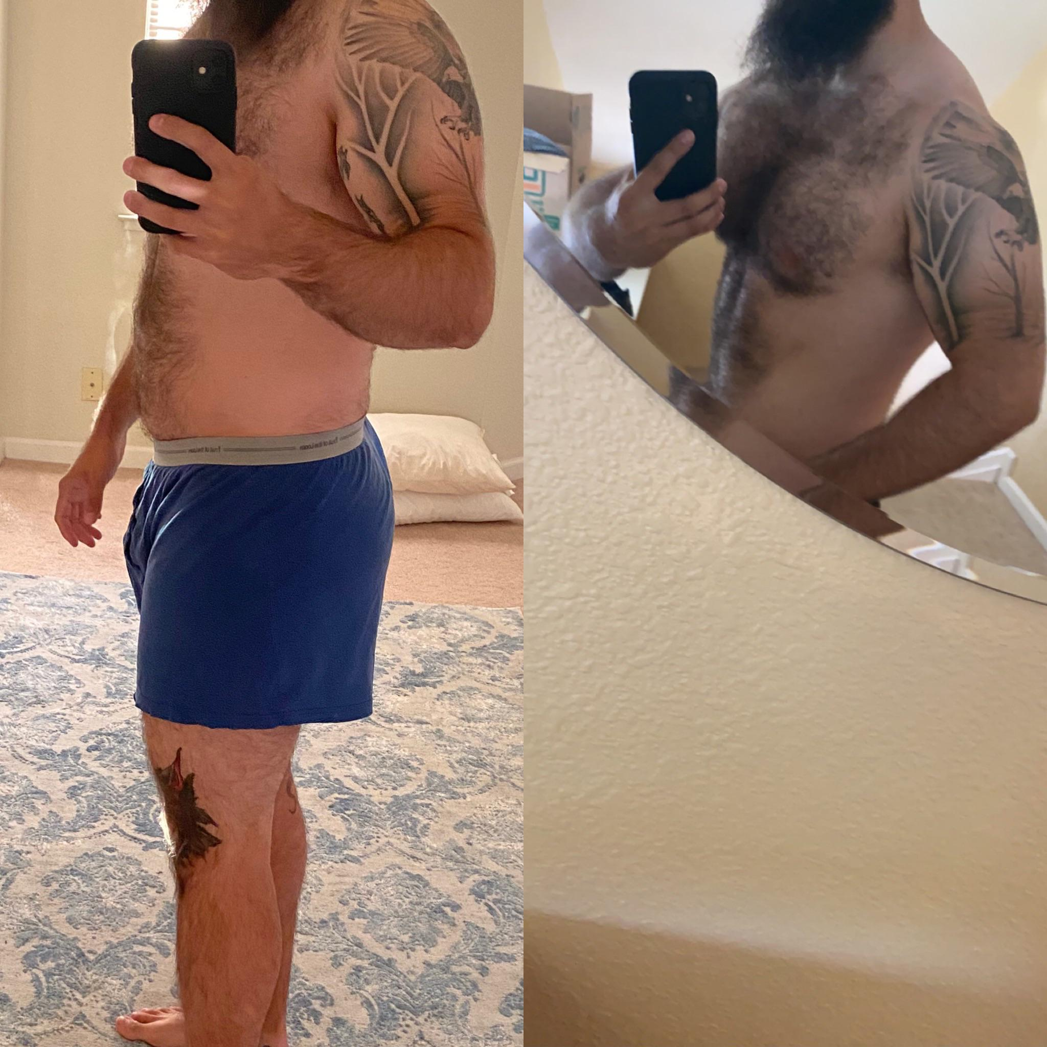1 Photo of a 190 lbs 5 feet 11 Male Weight Snapshot