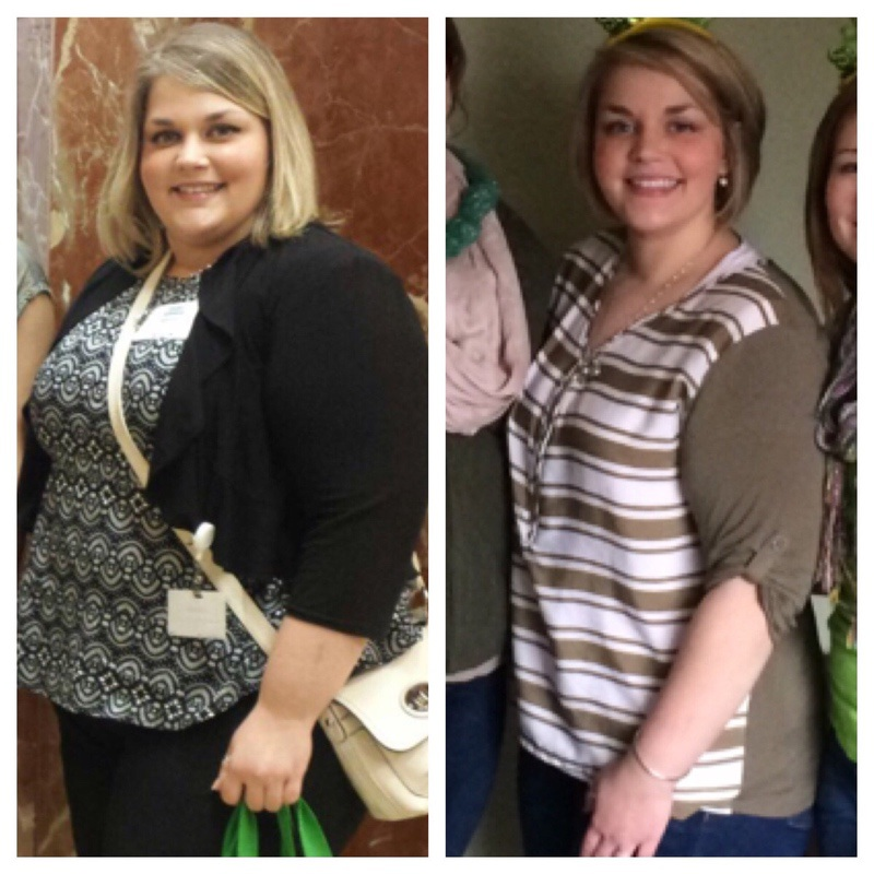 94 lbs Fat Loss Before and After 5 foot 4 Female 293 lbs to 199 lbs