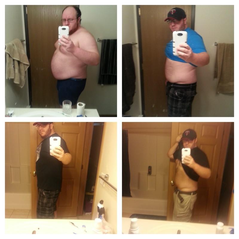 5'11 Male 50 lbs Weight Loss 310 lbs to 260 lbs