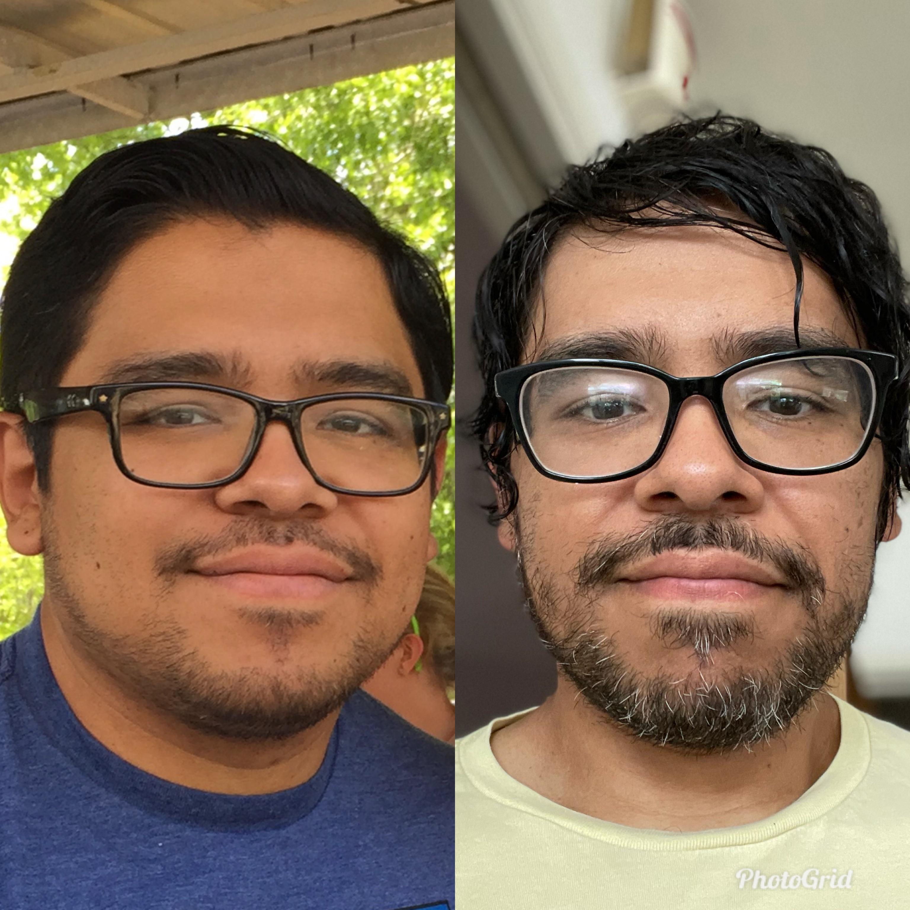 5'6 Male Progress Pics of 48 lbs Fat Loss 218 lbs to 170 lbs