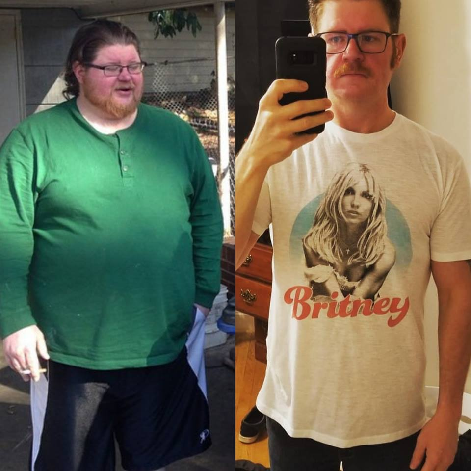 6 foot Male 170 lbs Weight Loss Before and After 360 lbs to 190 lbs