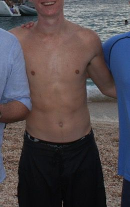 6 foot 5 Male 20 lbs Weight Gain 170 lbs to 190 lbs